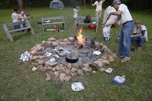 Campfire at ACC