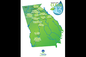 Georgia Water Coalition's 2019 Clean 13 Water Heroes