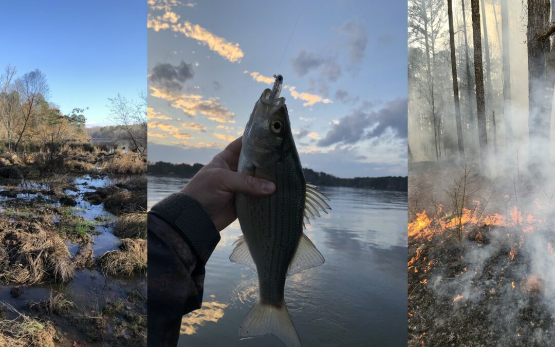 Hunting, Fishing, and Habitat: Late Winter and Early Spring