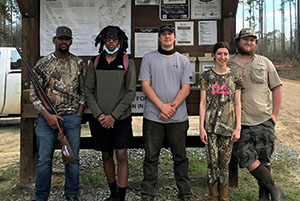 ABAC Students Hunt Small Game Hit Home Run